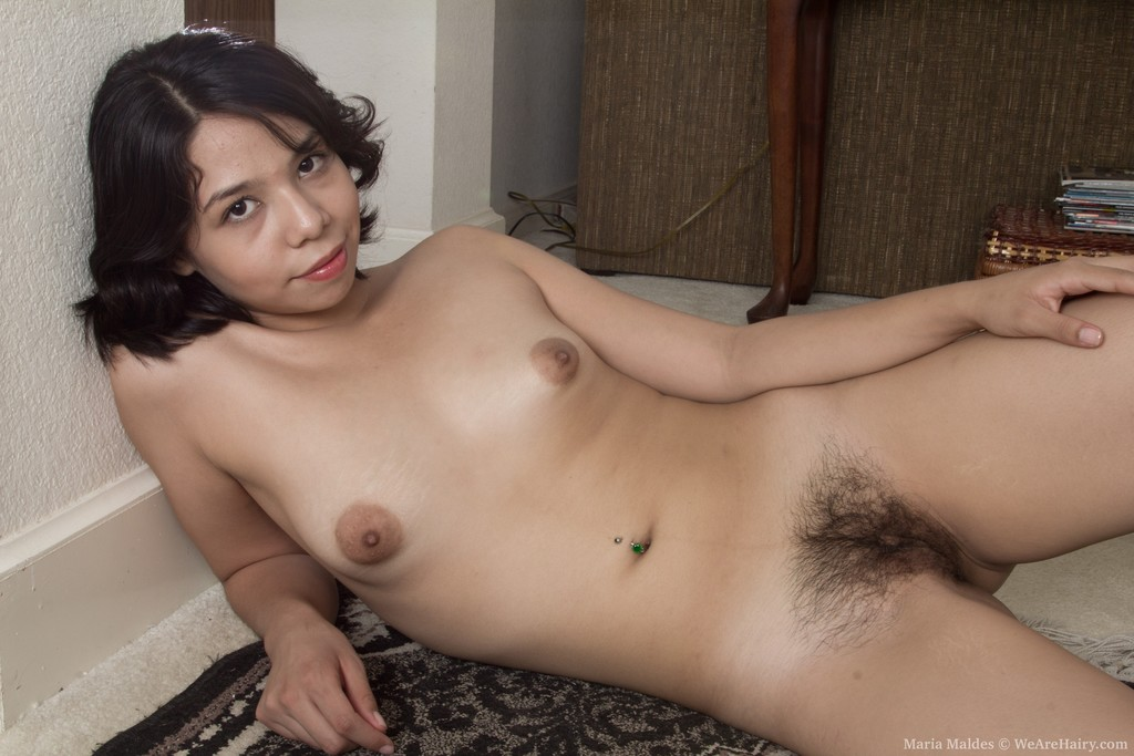 Hairy mariam dildo think, that